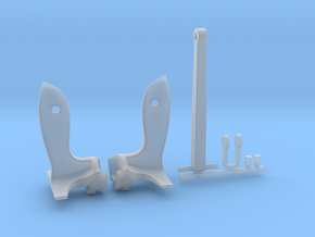 1/48 USN Anchor KIT - Battleship (30.000 lb.) in Smooth Fine Detail Plastic