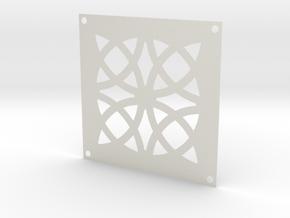 Drain Cover-1_.75mm in White Natural Versatile Plastic
