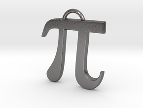 Pi in Polished Nickel Steel