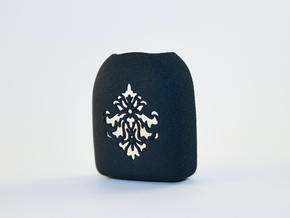 Omnipod Pod Cover - Damask in Black Strong & Flexible