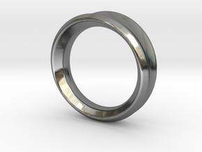 Modern+Taper in Fine Detail Polished Silver: 6.5 / 52.75
