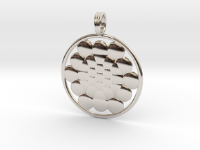 SPHERES OF LIFE in Rhodium Plated Brass