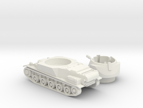 L-62 tank (Sweden) 1/87 in White Natural Versatile Plastic