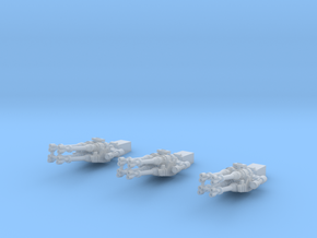 Falcon cannons, fixed, 1:144 in Frosted Extreme Detail