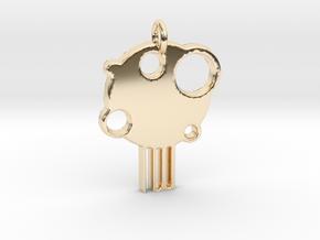 LemonTree in 14k Gold Plated Brass