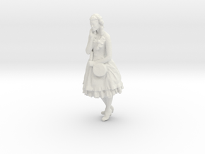 Printle C Femme 127 - 1/72 - wob in White Strong & Flexible