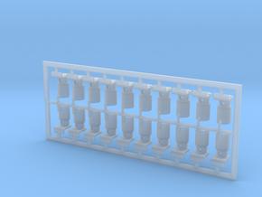 20 Stück Decksleuchte Typ-A 1:25 in Smooth Fine Detail Plastic