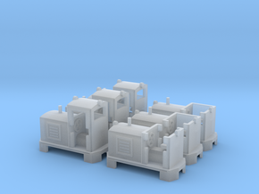 Feldbahn Dieselloks in 1:160 in Smooth Fine Detail Plastic