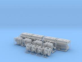 1/35 scale generators/pumps/cord reels in Smoothest Fine Detail Plastic