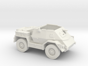 Pattern Wheeled Carrier (New Zealand) 1/144 in White Natural Versatile Plastic
