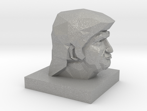 Trump Head in Raw Aluminum: 1:10