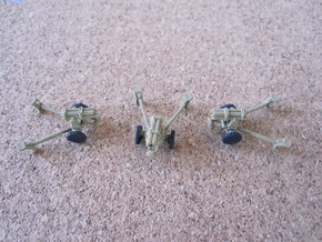 1/144 German Nebelwerfer set of 3 in White Strong & Flexible
