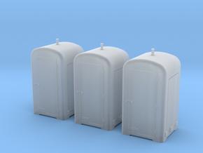 TJ-H04655x3 - Guérites de signalisation en béton a in Smooth Fine Detail Plastic