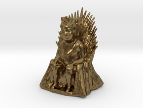 Donald Trump as Game of Thrones Character in Natural Bronze: Small