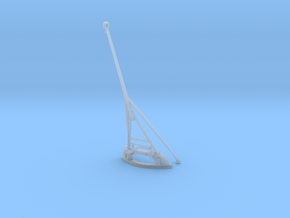 1/100 DKM Rear Flag Mast in Smooth Fine Detail Plastic
