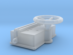 1/100 DKM Anchor Winch in Smooth Fine Detail Plastic