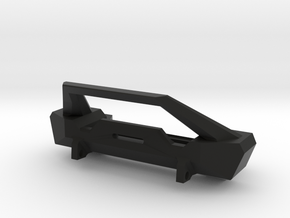 Front Bumper for Axial SCX10 in Black Natural Versatile Plastic