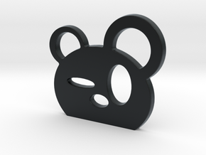 Drunk Panda! in Black Hi-Def Acrylate