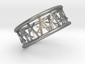 Tamb ring in Natural Silver: 8.75 / 58.375