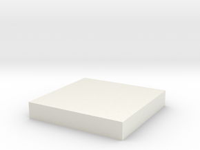 30mm Square in White Strong & Flexible