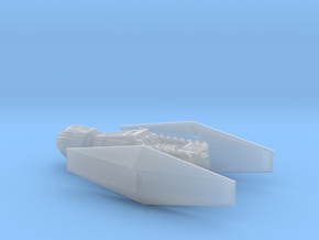 Tie Scimitar 1/270 in Smooth Fine Detail Plastic
