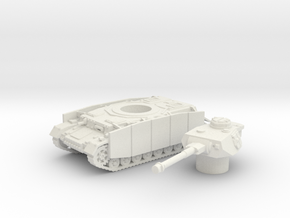 Pz.Kpfw. IV Ausf. tank (Germany) 1/100 in White Strong & Flexible