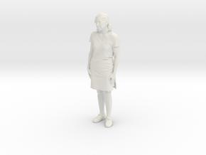 Printle C Femme 254 - 1/20 - wob in White Natural Versatile Plastic