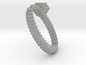 archetype - diamond ring in Aluminum: 7.75 / 55.875