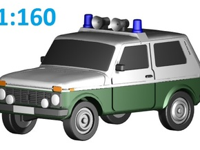 Lada-Niva VoPo (N, 1:160) in Frosted Ultra Detail