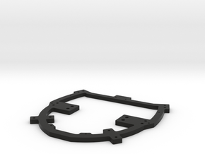 Mount Ring for HoloLens Mount in Black Natural Versatile Plastic