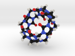 Cucurbituril Molecule Model. 2 Sizes. in Full Color Sandstone: 1:10