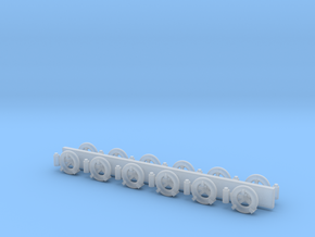 1/48 scale Life Ring sets in Smooth Fine Detail Plastic