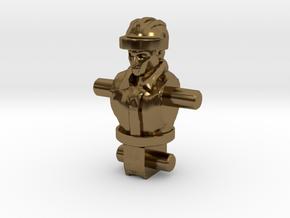 Spike Diaclone Inchman, Body in Polished Bronze