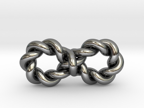 Twistfinity Medium in Polished Silver
