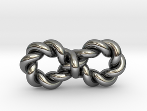 Twistfinity Small in Polished Silver