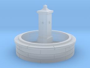 TJ-H01137 - Fontaine ronde in Smooth Fine Detail Plastic
