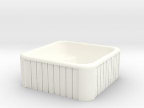 N Scale Whirlpool in White Processed Versatile Plastic