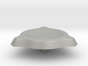 Spinner Cap 1.1 in Raw Aluminum