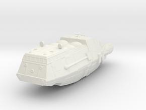 Shuttle (Battlestar Galactica TOS), 1/270 in White Natural Versatile Plastic