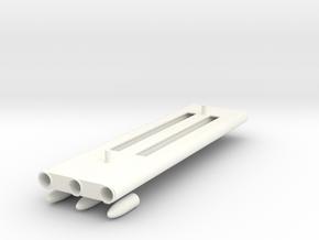 1.7 LANCES ROQUETTE HUGHES 530G in White Processed Versatile Plastic