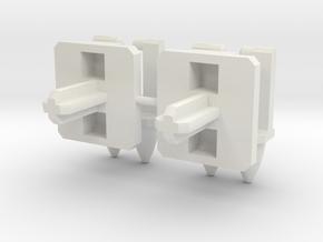 Jaruga Missiles - Beta in White Natural Versatile Plastic