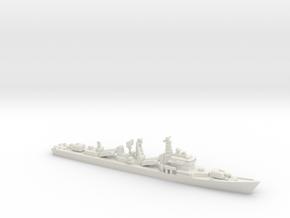 Type 051 Destroyer, 1/1250, HD Version. in White Natural Versatile Plastic
