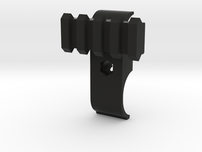 Cyma M870 airsoft front sight rail (Right side) in Black Natural Versatile Plastic
