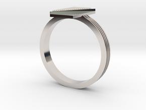 Fashion ring in Platinum: 9.5 / 60.25