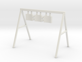 Swing 01. O Scale (1:48) in White Natural Versatile Plastic