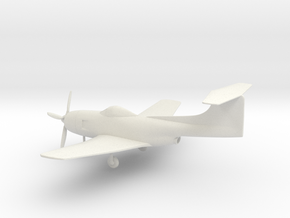 Curtiss XF15C in White Natural Versatile Plastic: 1:64 - S