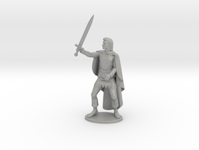 Belgarion Miniature in Raw Aluminum: 1:55
