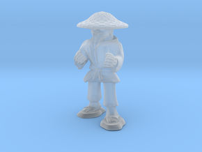 Dwarven Monk  in Smooth Fine Detail Plastic: 1:30