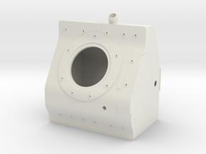 Apollo LM Translation Housing 1:2 in White Natural Versatile Plastic