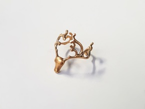 Baratheon Ring in Polished Bronze: 10 / 61.5